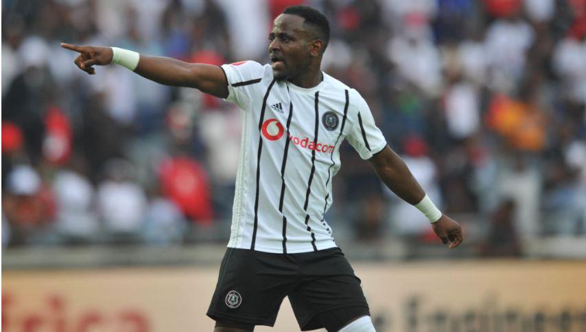 Orlando Pirates striker Gabadinho Mhango