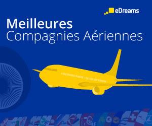Les meilleures compagnies aériennes selon eDreams