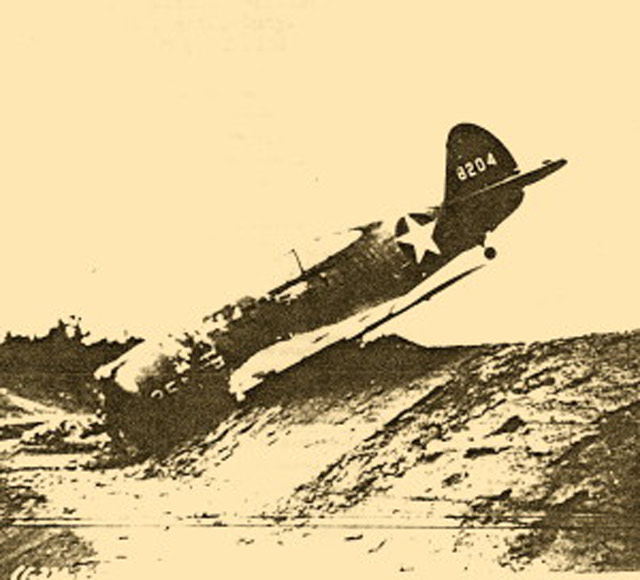 P-36C that ran off the runway in Connecticut, 21 May 1942 worldwartwo.filminspector.com