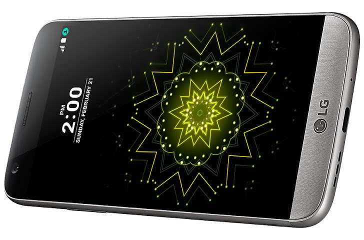 Review Phone LG G5 Verizon in Titan