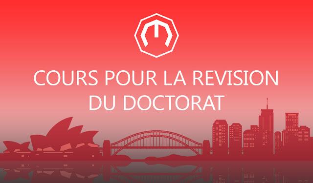 COURS POUR LA REVISION POUR DOCTORAT