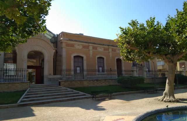 Entrada del museu