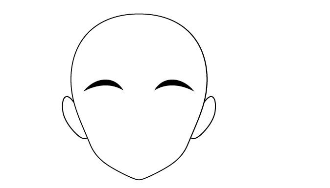 menggambar alis anime