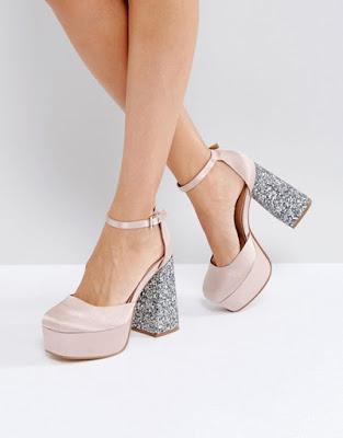 Zapatos de Tacón Grueso 2017