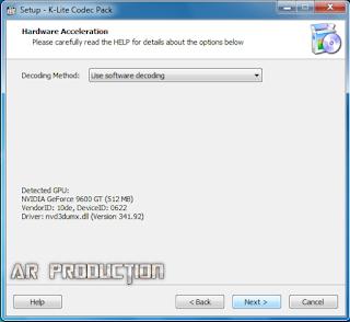Tahap 3 Instalasi K-Lite Codec Pack Beserta Gambar