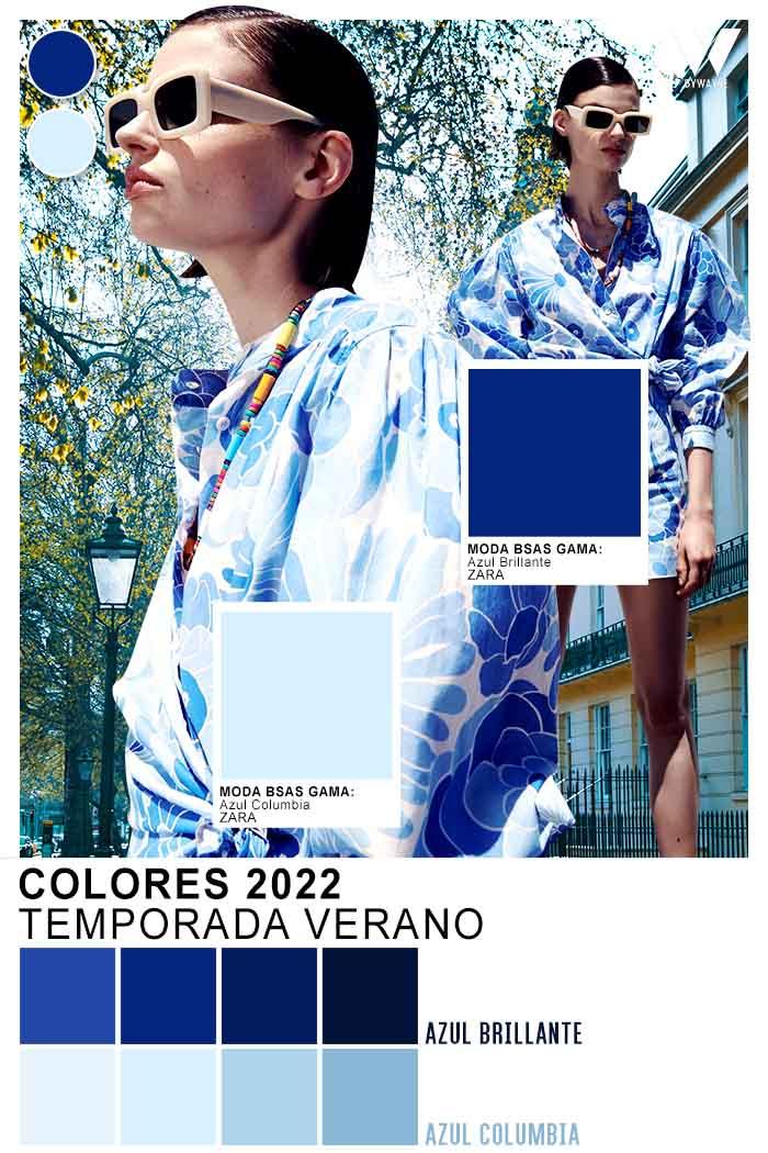 azules y celestes moda colores primavera verano 2022
