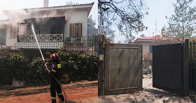 55χρονος πατρινός έχτισε καινούριο σπίτι, έμεινε εκεί μόνο για μια νύχτα και την επομένη κάηκε από τη φωτιά