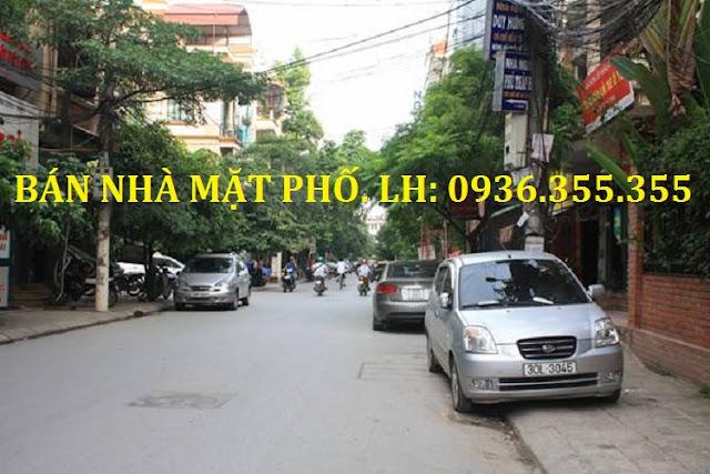 Bán nhà mặt phố Đỗ Quang