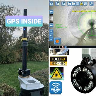 MESSEN NORD Schacht-Zoom-Kamera STV-4 serienmäßig mit integrierter GPS-Positionserfassung