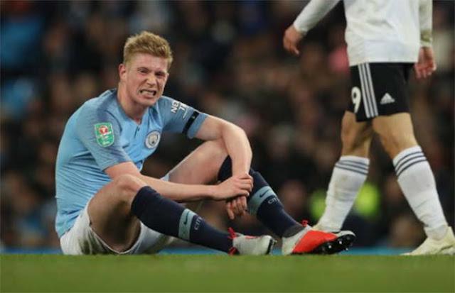 Man City đón tin dữ: Nhạc trưởng De Bruyne lại chấn thương, MU mừng lớn