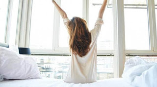 Selalu bangun pagi