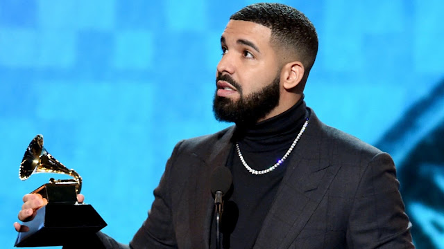 Drake sh*ts on the Grammy's, his acceptance speech gets cut off