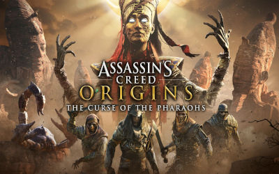 Assassin's Creed Origins The Curse of The Pharaohs - Fond d'Écran en Quad HD 1440p