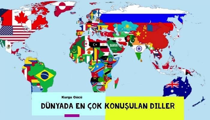 Dünyada En Çok Konuşulan Diller Sıralaması - Kurgu Gücü