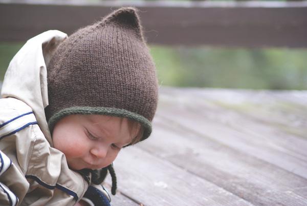 patron gratuit de tricot bonnet béguin pour bébé et enfant