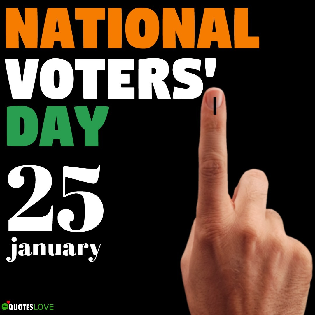 National Voters' Day Images, Poster, Wallpaper, Logo, Drawing