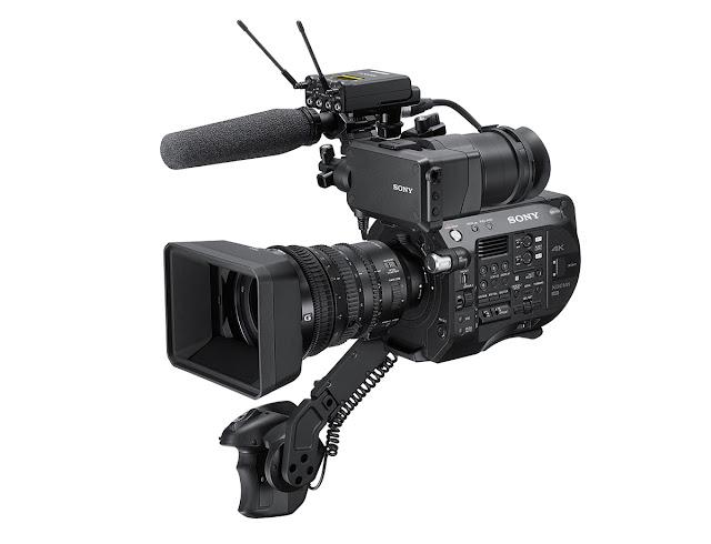 Sony FS7 II FS Serisi Yeni Super 35 mm 4K Kamerası
