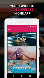 Efectum – Slow Motion, Reverse Cam, Fast Video v1.9.2 [Pro] APK