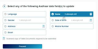 Aadhaar Demographics Update