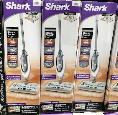 Shark Professional Steam Pocket Mop - Perfect for large areas and tight corner cleaning