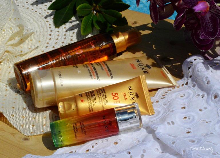 Słoneczne kosmetyki NUXE Sun - na powitanie lata...