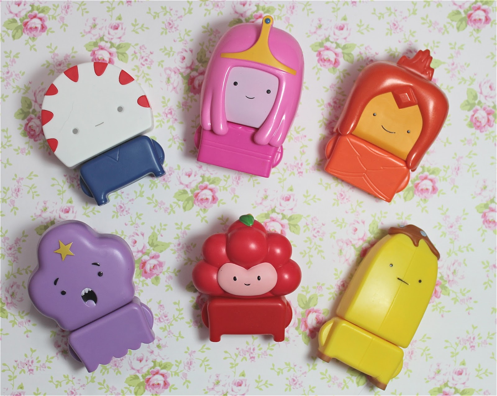mcdonalds happy meal toys adventure time