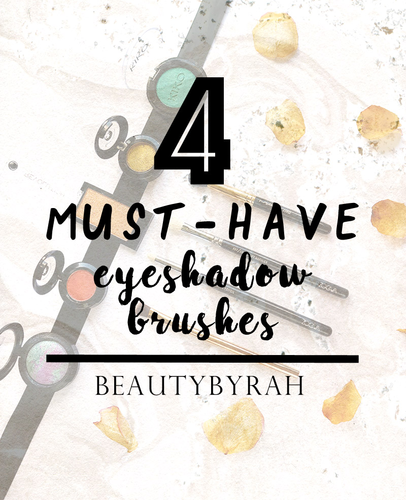 top 4 essential Eyeshadow Brushes For Beginners