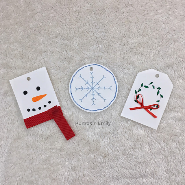 Christmas DIY Gift Tags
