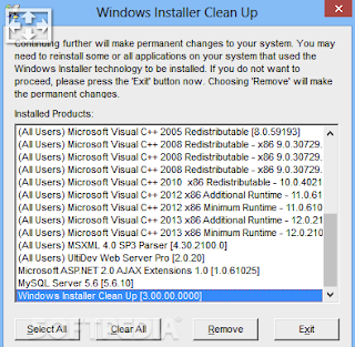 Windows Installer CleanUp Utility 2019 Free Download