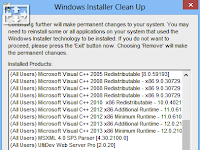 Windows Installer CleanUp Utility 2017 Free Download