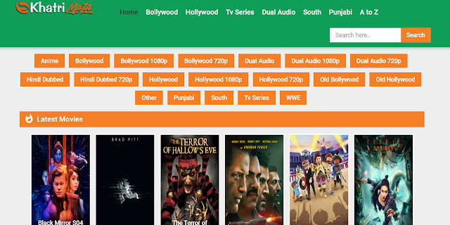 Khatrimaza Website 2020: Latest Hollywood South Hindi Dubbed Bollywood full HD Movies Download for free
