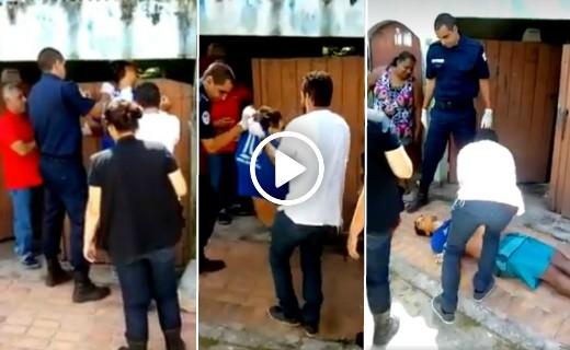 Video Lelaki Maut Kepala Tersangkut Di Pagar Rumah Kawan.