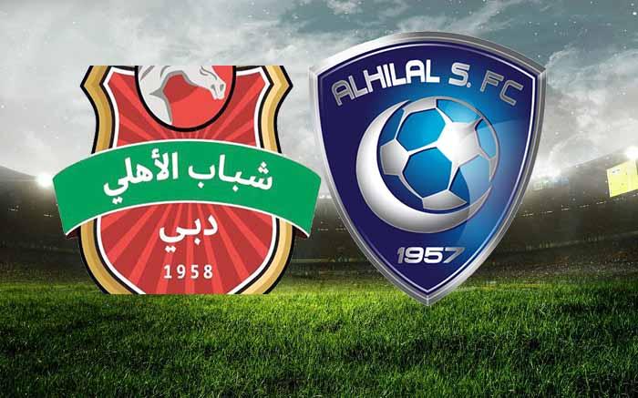 موعد مباراة الهلال ضد شباب الأهلي دبي