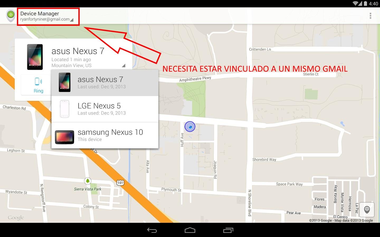 rastrear celular android way