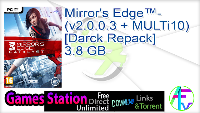 Mirror's Edge™- (v2.0.0.3 + MULTi10) [Darck Repack]  3.8 GB
