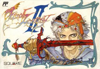 Arte gráfico de Final Fantasy II NES, 1988
