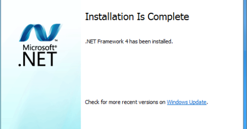 .NET Framework Version 4.6 Latest Version Download