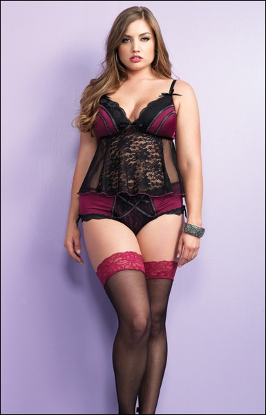 Plus Size Pin Up Lingerie 28