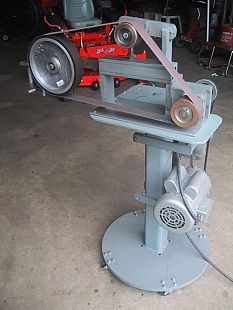 adam savage sander, knife sander, tested strip sander, belt sander