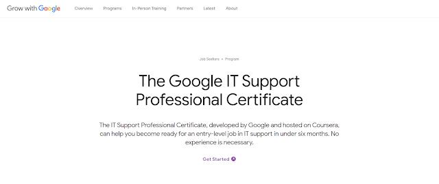 Reference - Tôi đã học Google IT Support trên Coursera để làm gì