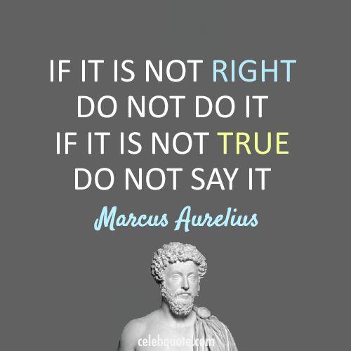 Marcus Aurelius truth quote