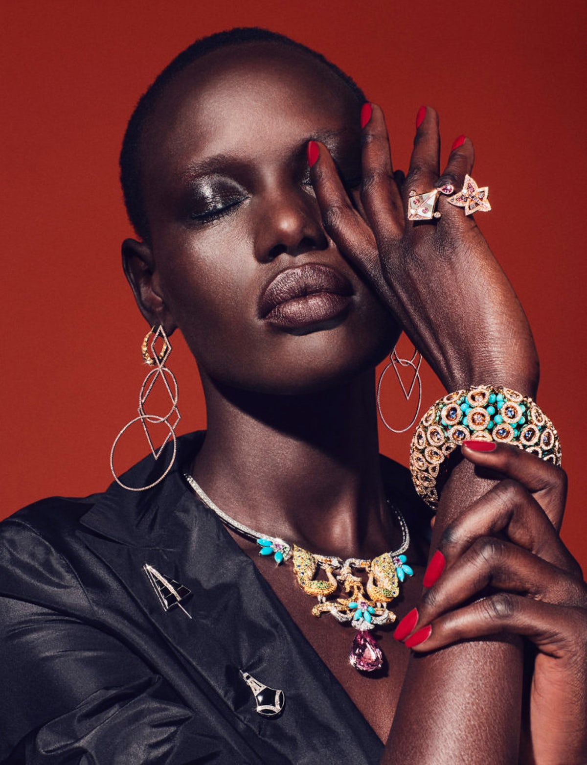 Ajak Deng from South Sudan