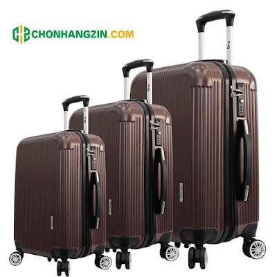 vali kéo du lịch bằng nhựa