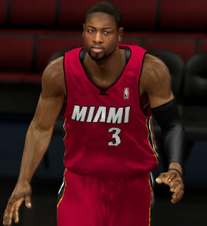 NBA 2K13 Dwyane Wade CyberFace Mod Patch
