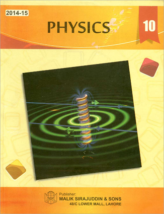 10th Class (Matric-II) Physics Textbook (PCTB) for English Medium