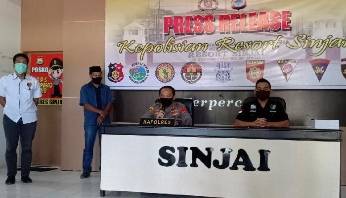 Beda Kejaksaan, Polisi Tetap Ekspose Dugaan Korupsi Ratusan Juta Meski Ada Covid-19