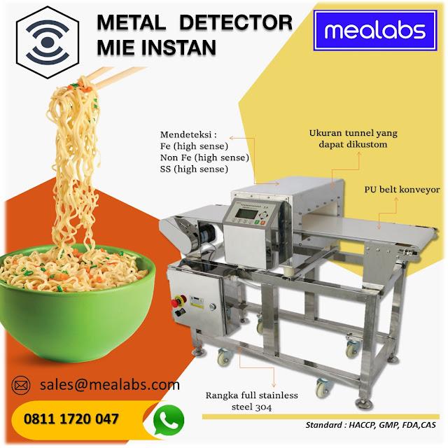 metal detector mie instan