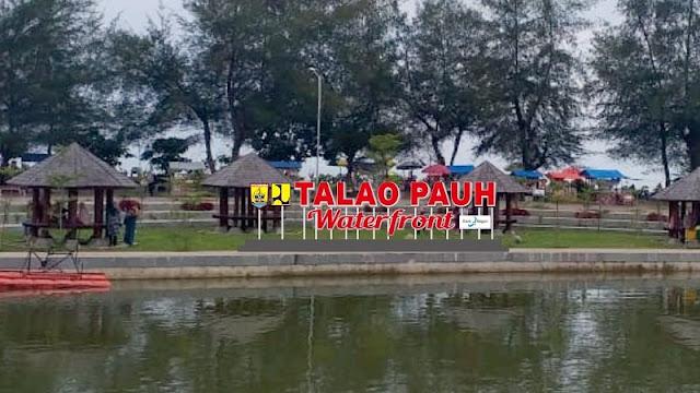 Giant Letters Talao Pauah Objek Selfie Baru bagi Wisatawan