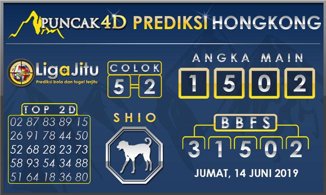 PREDIKSI TOGEL HONGKONG PUNCAK4D 14 JUNI 2019