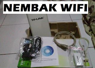Nembak WiFi Jarak Jauh Modal Sekali Untung Terus
